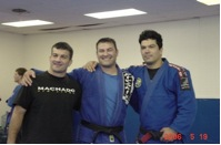 Carlos Machado, William Vandry and John Machado 11 years later in 2006