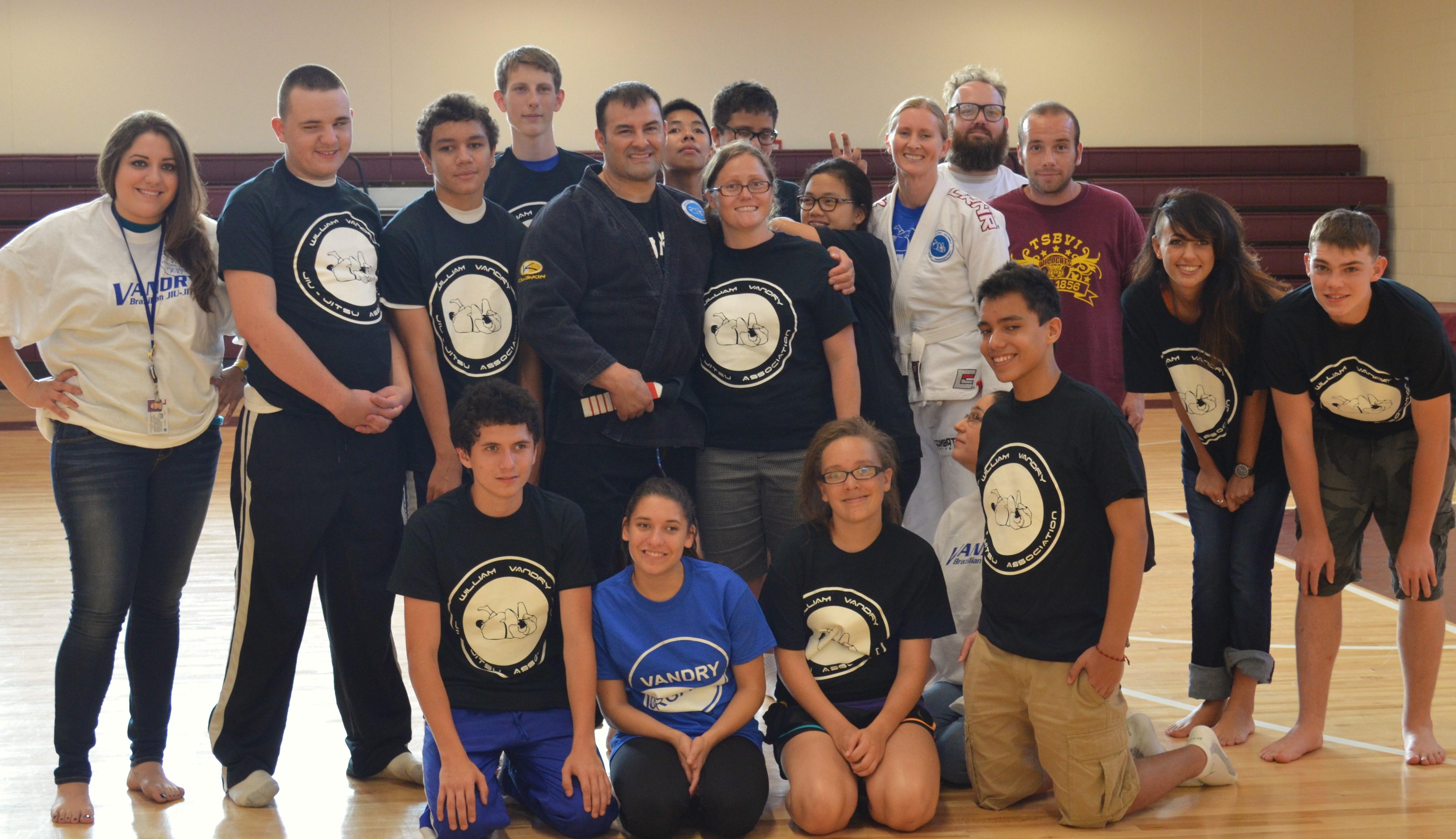 William Vandry William Vandry School of the Blind Jiu jitsu camp