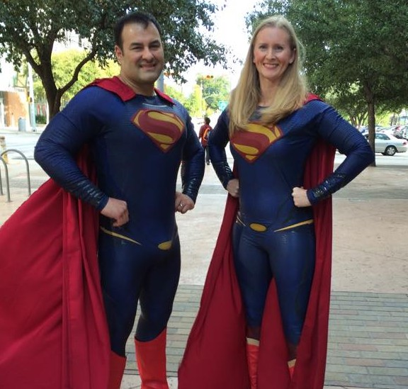 supermanandsupergirl